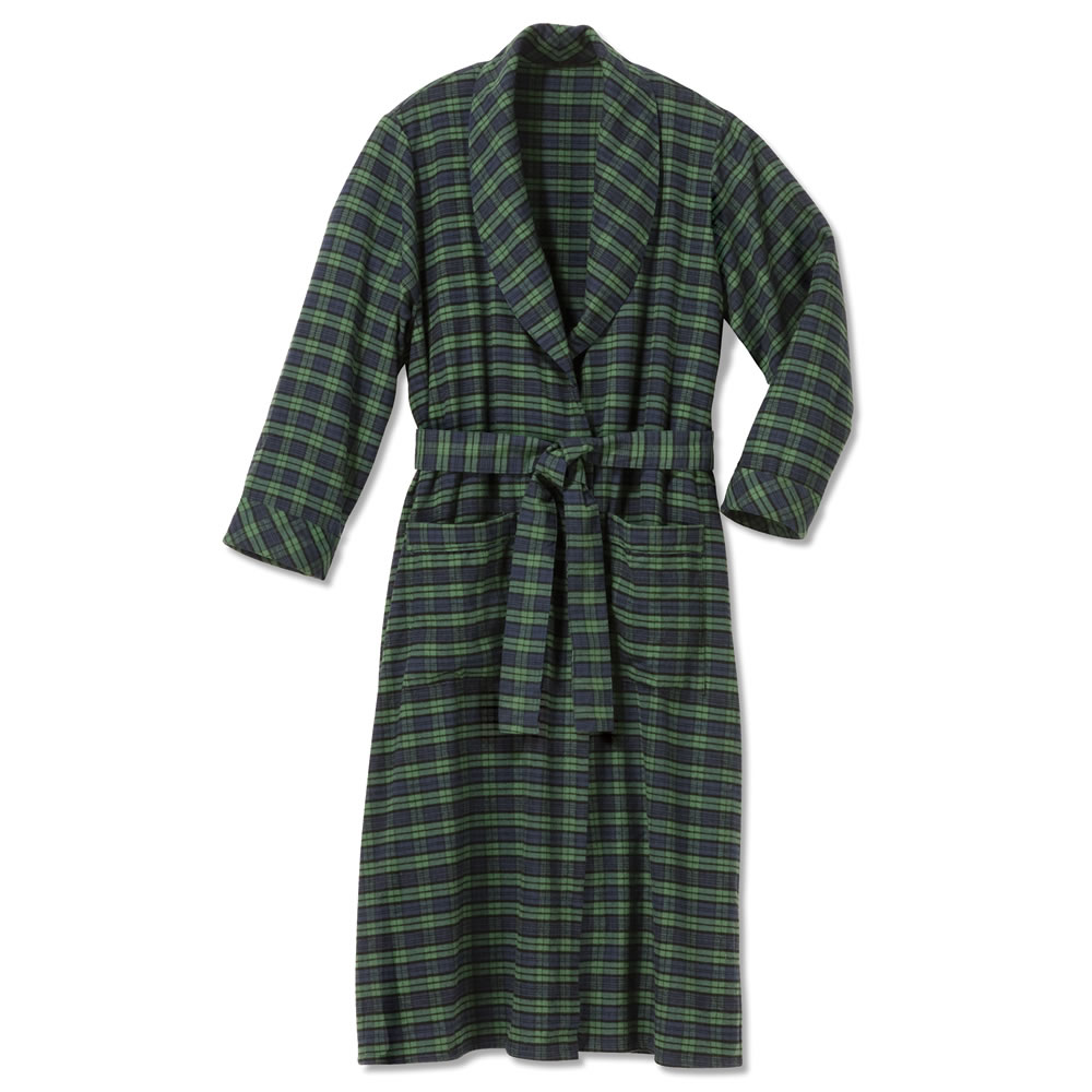 af361a111 Genuine Irish Flannel Robe - Hammacher Schlemmer