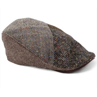 The Genuine Irish Tweed Patchwork Cap