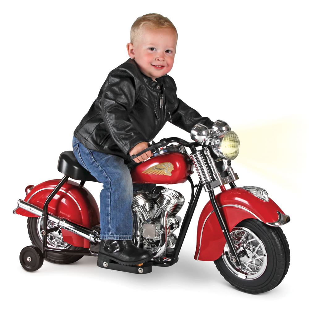 The Children's Electric 1948 Indian Motorcycle - Hammacher