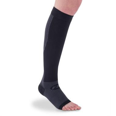 The Circulation Enhancing Calf And Foot Sleeves.