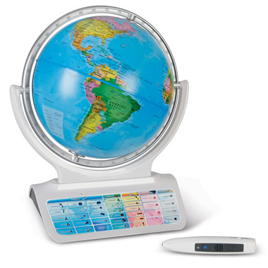 The Always Current Interactive Globe.
