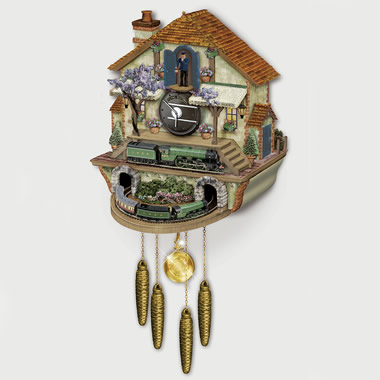 The Flying Scotsman Cuckoo Clock.