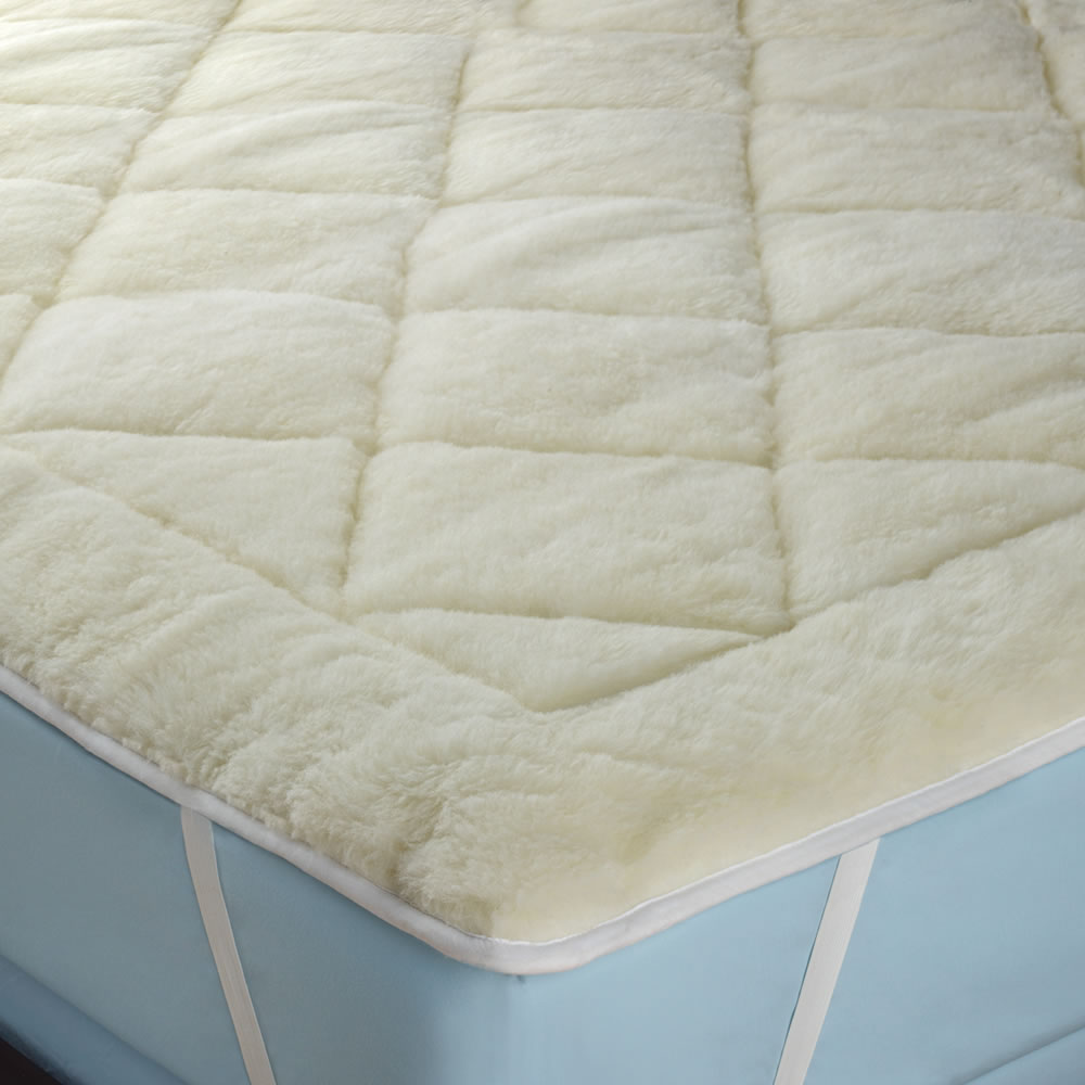 the all season reversible cottonwool mattress pad