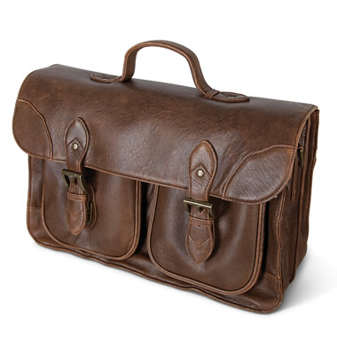 The Bomber Jacket Briefcase.