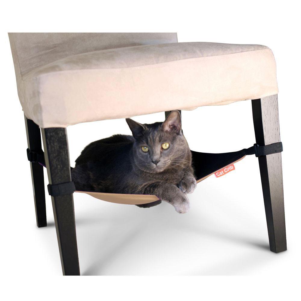 the hide away cat hammock the hide away cat hammock   hammacher schlemmer  rh   hammacher