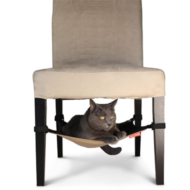 The Hide Away Cat Hammock.