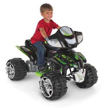 The Child's Hand Control ATV.
