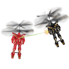 The RC Flying Battle Robots