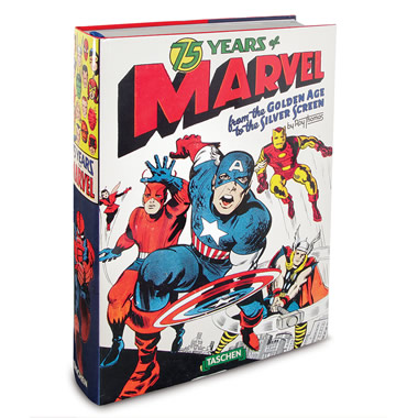 75 Years Of Marvel Comics Anniversary Book