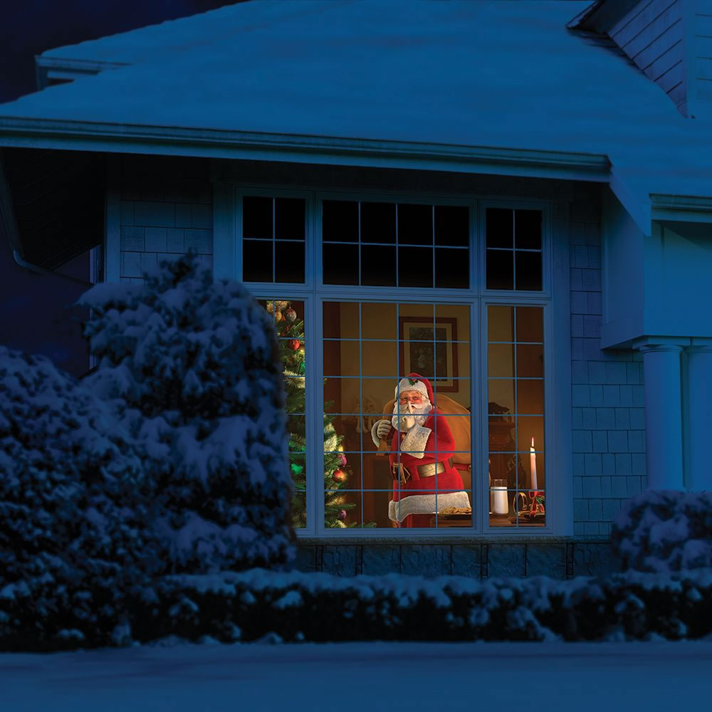 Christmas Projector.The Superior Holiday Scene Projector Hammacher Schlemmer