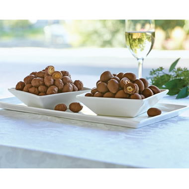 The Chocolate Covered Virginia Gourmet Peanuts.