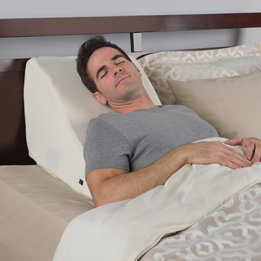 The Massaging Back Wedge Pillow