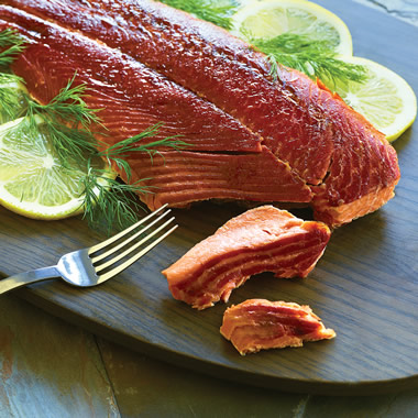 The Genuine Copper River Smoked Salmon