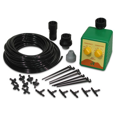 Drip Irrigation System for The Rolling Vertical Garden.