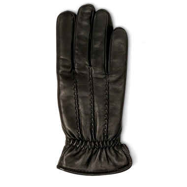 The Heat-Storing Leather Gloves (Men's).