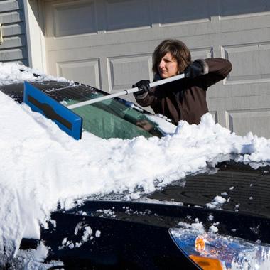 The Telescoping Snow Broom