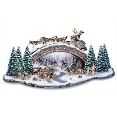 The Al Agnew Holiday Wolfscape