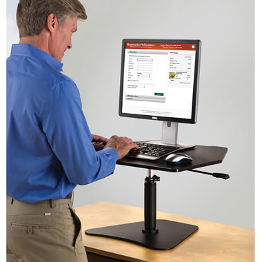 The Stand Up Workstation Platform