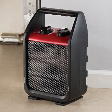 The Air Circulating Garage Heater.