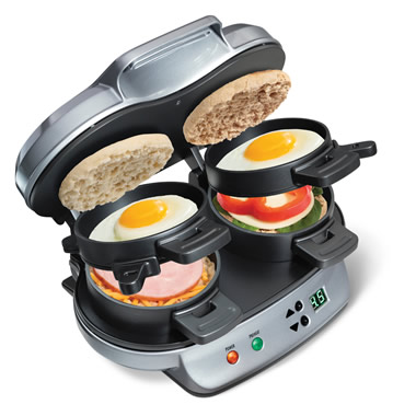 The Tandem Breakfast Sandwich Maker