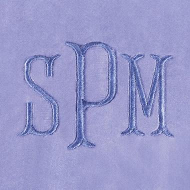 Monogramming For Washable Silk Pajamas