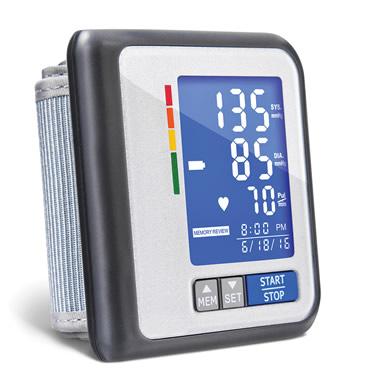 The Superior Wrist Blood Pressure Monitor
