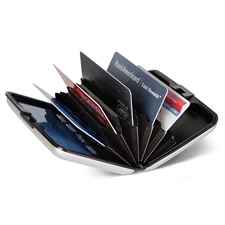 The Identity Theft Thwarting Aluminum Wallet
