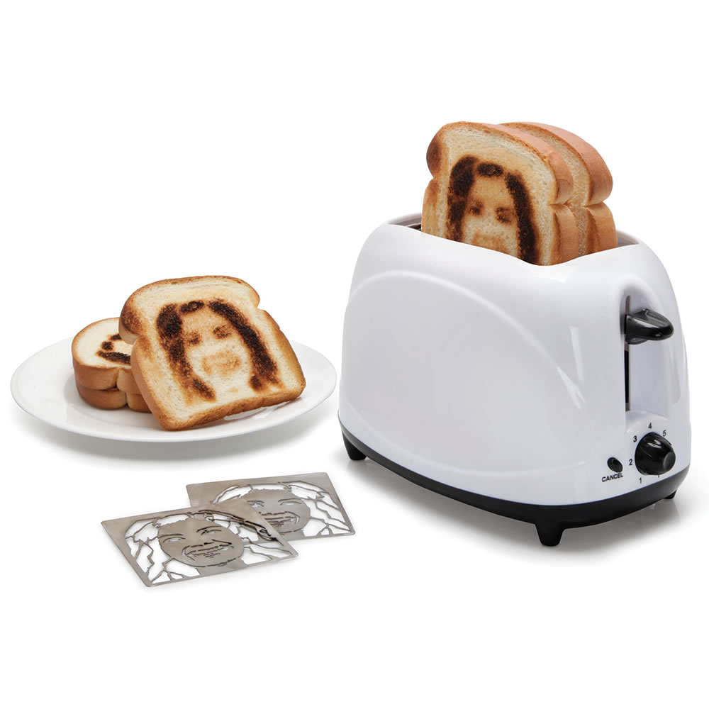 The Selfie Toaster - Hammacher Schlemmer