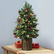 The Tabletop Prelit Christmas Tree