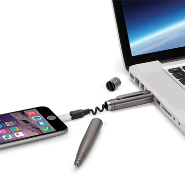 The Smartphone Charging Cable Pen.