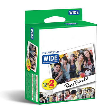 Extra Paper for The Instant Photo Printing Camera.