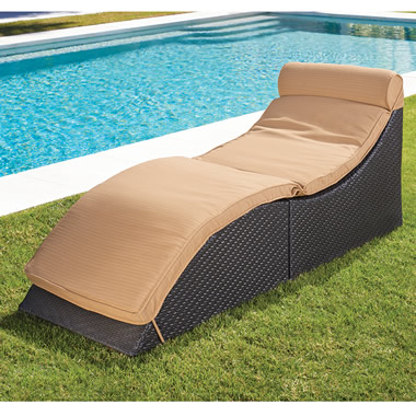 The Cubic Chaise Lounger.