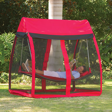 The Mosquito Thwarting Hammock