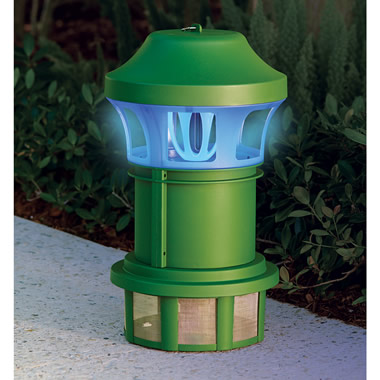 The Mosquito Luring UV-A Light Trap.