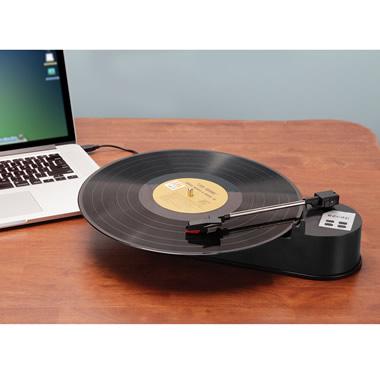 The Portable LP to MP3 Converter