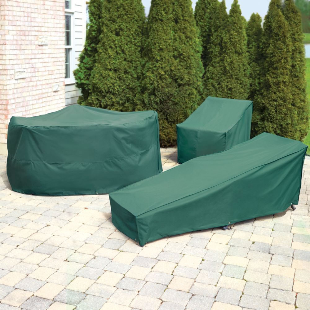 The Better Outdoor Furniture Covers (Coffee Table Cover) - Fits completely  over furniture - The Better Outdoor Furniture Covers (Coffee Table Cover) - Hammacher