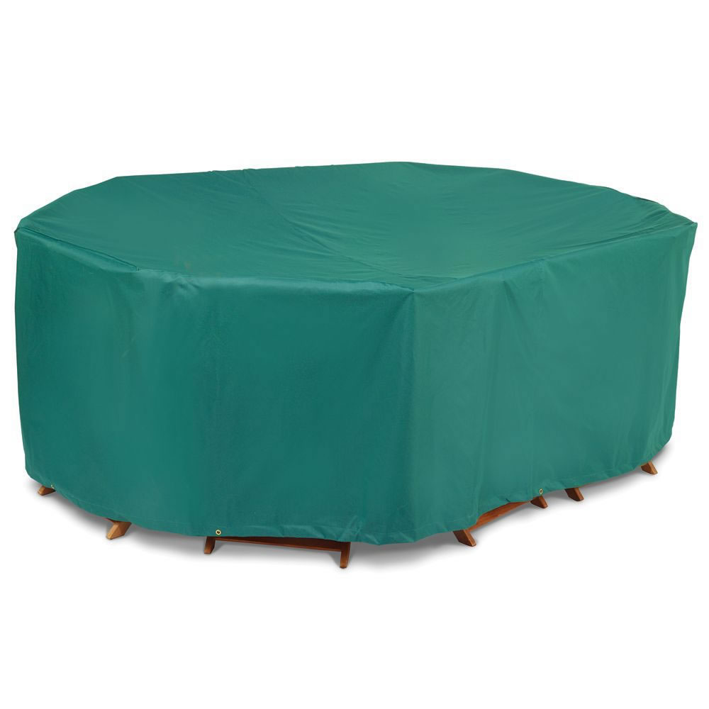 umbrella patio ring with glass hole tablecloth table zipper cover