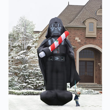 The 16 Foot Inflatable Christmas Darth Vader