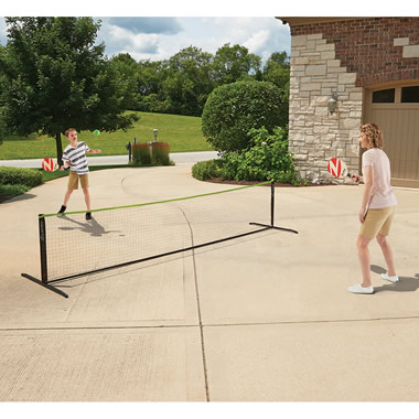 The Instant Pickleball Court Set.