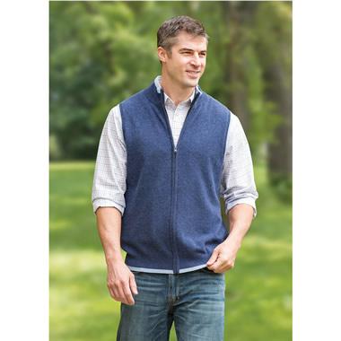 The Gentleman's Washable Cashmere Vest