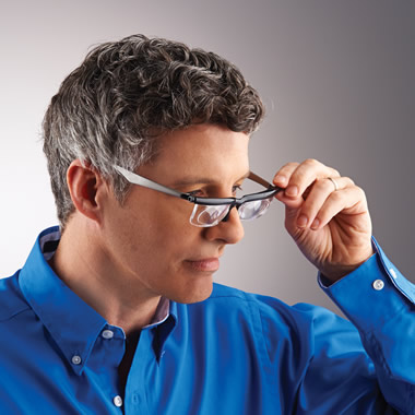 The Adjustable Focus Reading Glasses