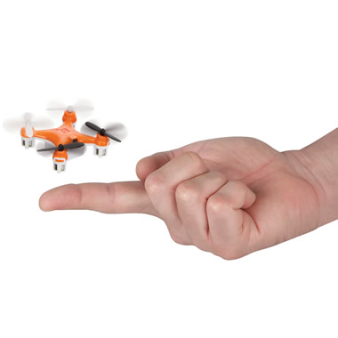 The World's Smallest Quadcopter.
