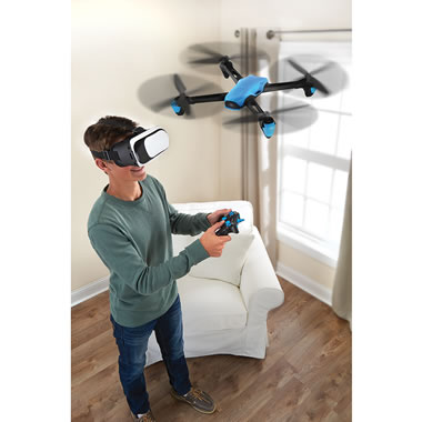 In Flight Virtual Reality Drone