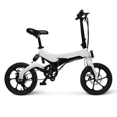 The 16 MPH Folding Electric Bicycle