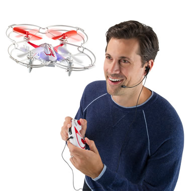 The Voice Controlled Drone.