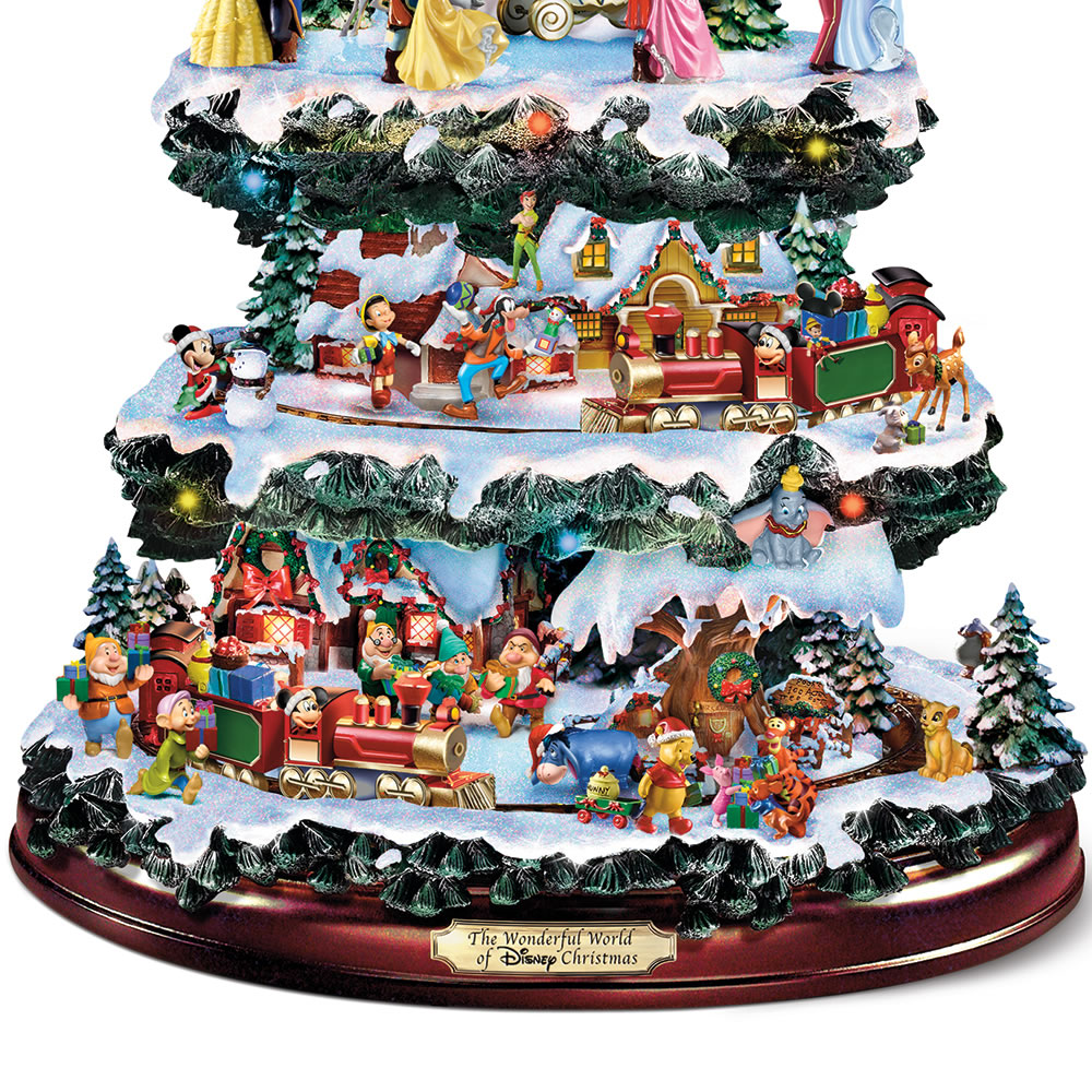 the disney christmas carousel tree - Christmas Carousel Decoration