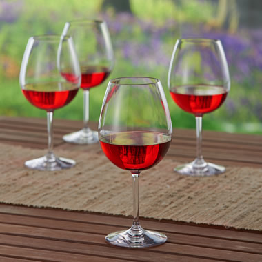The Impervious Stemmed Red Wine Glasses.