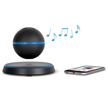 The Levitating Bluetooth Speaker.