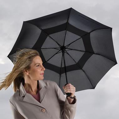 The Wind Defying Doorman's Umbrella