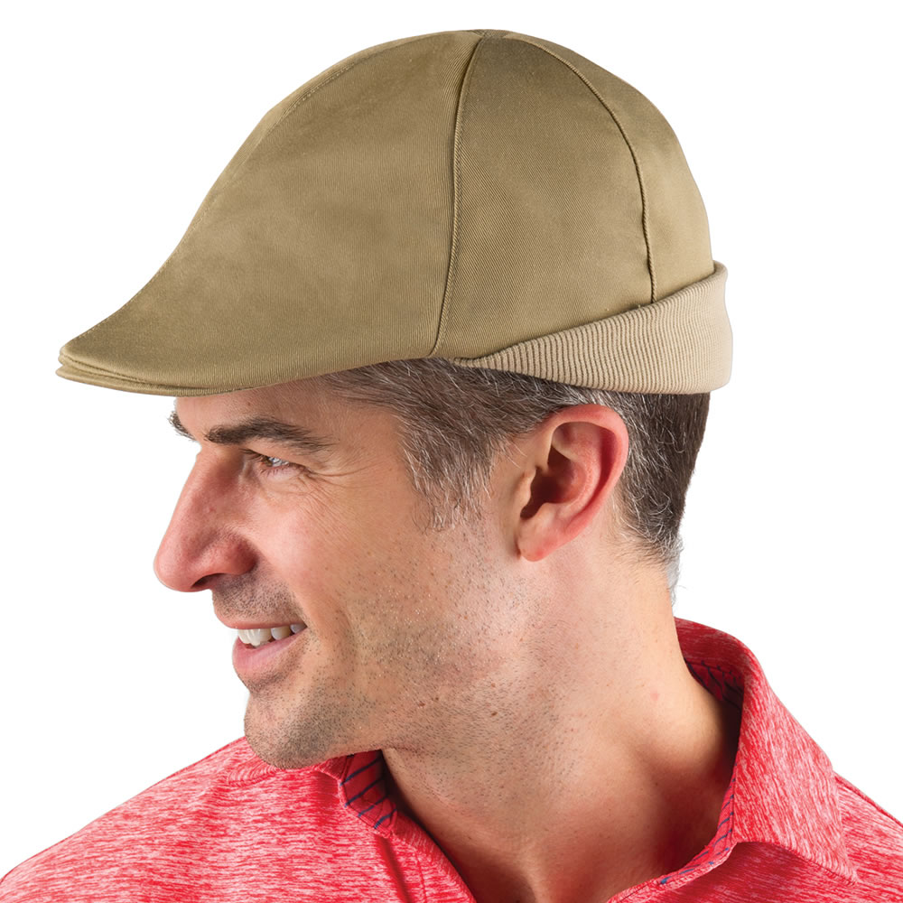the evaporative cooling golf cap hammacher schlemmer